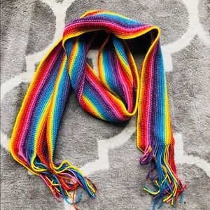 Accessories - 🎂 Rainbow winter scarf colorful